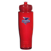 Spectrum Red Sport Bottle 28oz-Official Logo