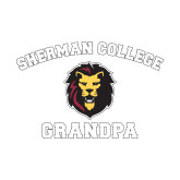 Small Decal-Grandpa with Lion