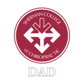 Dad Decal-Dad with Seal