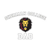 Dad Decal-Dad with Lion