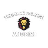 Alumni Decal-Alumni with Lion