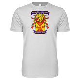Next Level SoftStyle White T Shirt-Presidents Crest