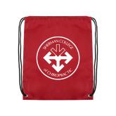 Cardinal Drawstring Backpack-Seal