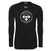 Under Armour Black Long Sleeve Tech Tee-Seal