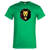 Kelly Green T Shirt-Larry Lion