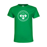 Youth Kelly Green T Shirt-Seal