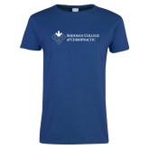 Ladies Royal T Shirt-College Logo