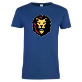 Ladies Royal T Shirt-Larry Lion
