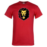 Red T Shirt-Larry Lion