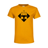 Youth Gold T Shirt-Sherman Arrows
