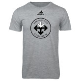 Adidas Sport Grey Logo T Shirt-Seal