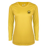 Ladies Syntrel Performance Gold Longsleeve Shirt-Seal