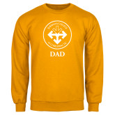 Gold Fleece Crew-Dad with Seal