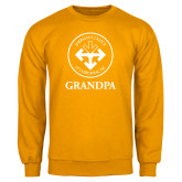 Gold Fleece Crew-Grandpa with Seal