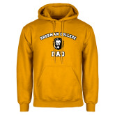 Gold Fleece Hoodie-Dad with Lion