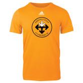 Adidas Gold Logo T Shirt-Seal