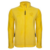 Fleece Full Zip Gold Jacket-Sherman Arrows