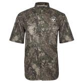 Camo Short Sleeve Performance Fishing Shirt-Seal