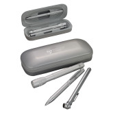 Silver Roadster Gift Set-College Logo Engraved