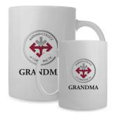 Full Color White Mug 15oz-Grandma with Seal