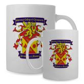 Full Color White Mug 15oz-Presidents Crest