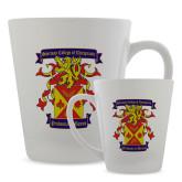Full Color Latte Mug 12oz-Presidents Crest