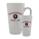 Full Color Latte Mug 17oz-Grandpa with Lion