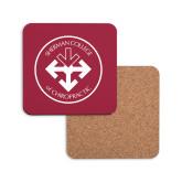 Hardboard Coaster w/Cork Backing-Seal