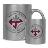 Full Color Silver Metallic Mug 11oz-Seal