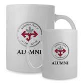 Alumni Full Color White Mug 15oz-Alumni with Seal