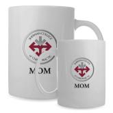 Mom Full Color White Mug 15oz-Mom with Seal