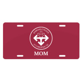 License Plate-Mom with Seal