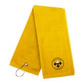 Gold Golf Towel-Seal