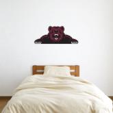 1 ft x 3 ft Fan WallSkinz-Bear Logo