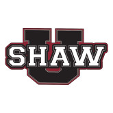 Large Decal-Shaw U, 12in Wide