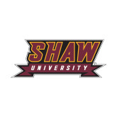 Small Decal-Shaw University Stacked Logo
