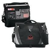 Slope Black/Grey Compu Messenger Bag-Shaw University Primary