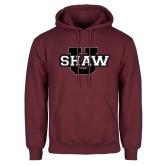 Maroon Fleece Hoodie-Shaw U Logo
