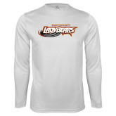 Performance White Longsleeve Shirt-Lady Bears