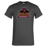 Charcoal T Shirt-Shaw University Primary