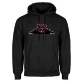 Black Fleece Hoodie-Bear Logo