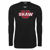 Under Armour Black Long Sleeve Tech Tee-Shaw U