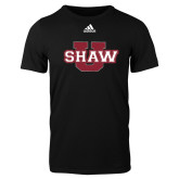 Adidas Black Logo T Shirt-Shaw U