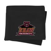 Black Sweatshirt Blanket-Shaw University Primary