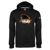 Under Armour Black Performance Sweats Team Hoodie-Primary Mark
