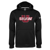 Under Armour Black Performance Sweats Team Hoodie-Shaw U