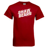 Cardinal T Shirt-Shaw Bears Lined Design