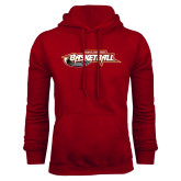 Cardinal Fleece Hoodie-Basketball