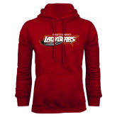 Cardinal Fleece Hoodie-Lady Bears