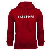Cardinal Fleece Hoodie-Shaw Bears